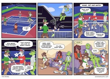 Super Tennis Bros Melee